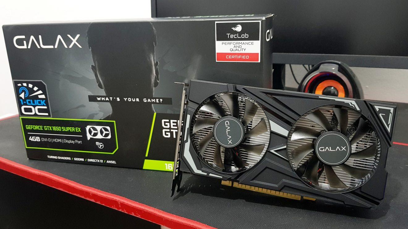 REVIEW: GALAX GeForce GTX 1650 Super EX traz alta performance no segmento de entrada