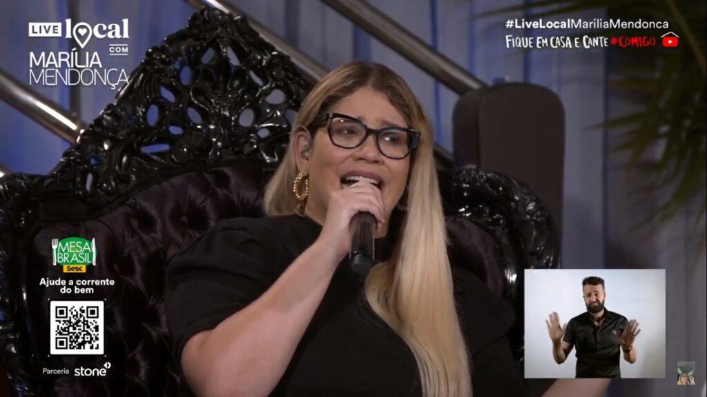 Marilia mendonça live