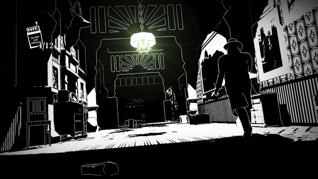 Investigando a mansão em White Night