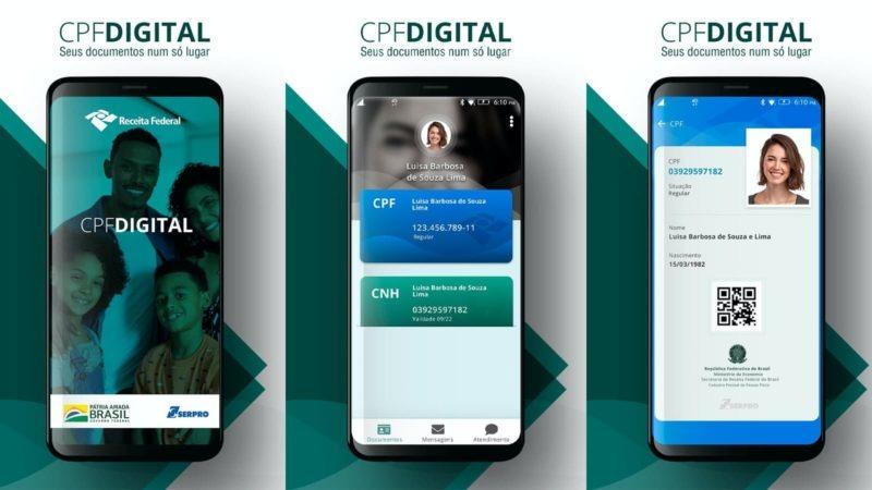 CPF Digital da Receita Federal para Android