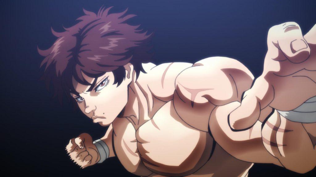 Cena do anime baki: o campeão