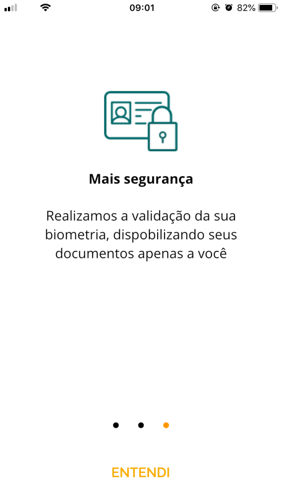 Screenshot cpf digital da receita federal