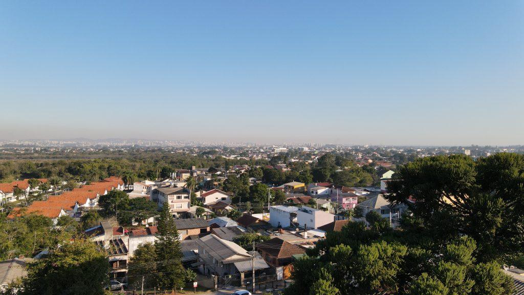 Foto tirada com o drone