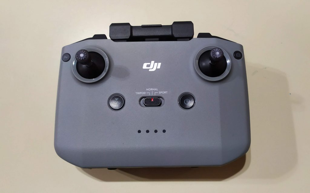 Controle do DJI Mavic Air 2
