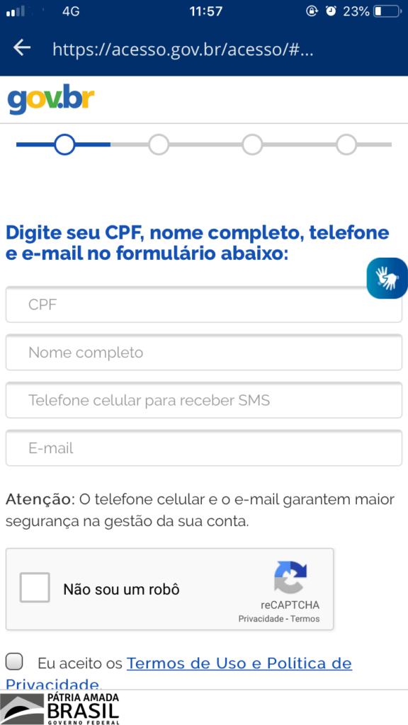App Carteira de Trabalho Digital