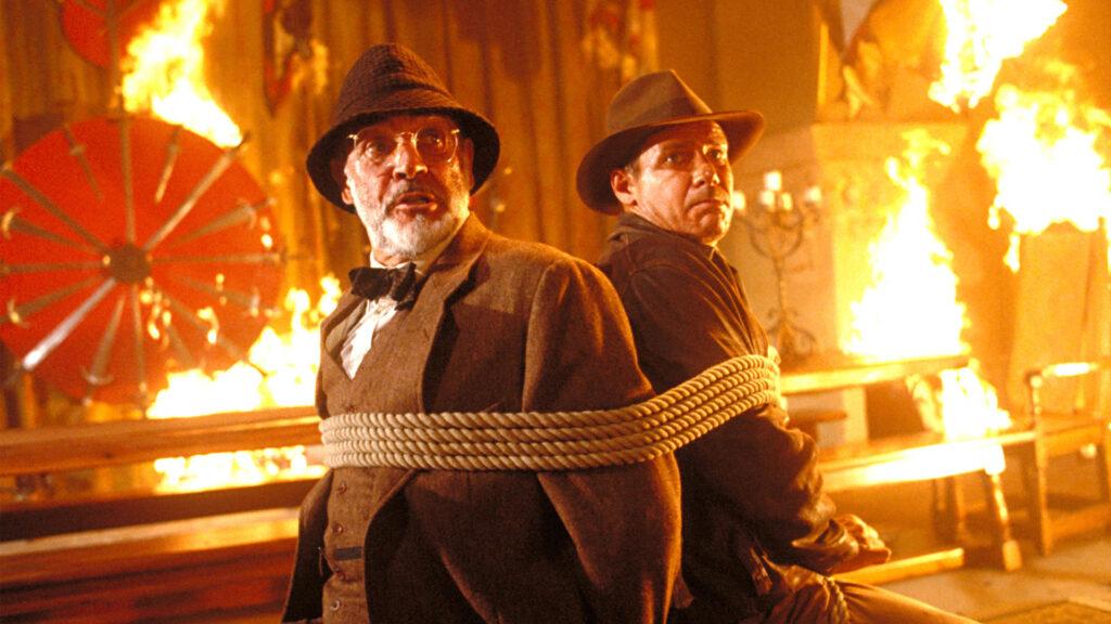 Cena do filme indiana jones e a última cruzada