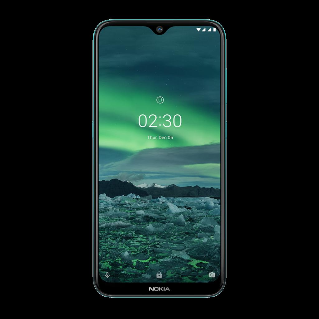Parte frontal do Nokia 2.3
