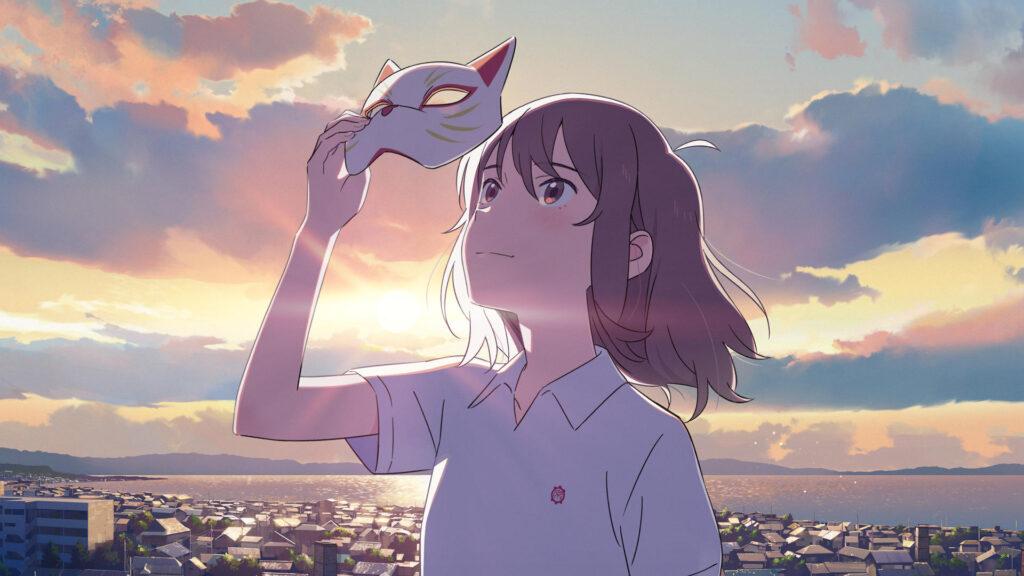 Pôster do anime da netflix olhos de gato