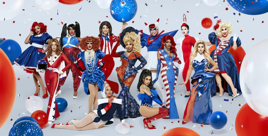 Capa do reality show rupaul's drag race