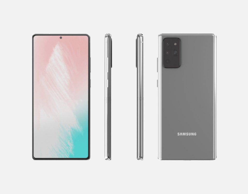 Novo Samsung Galaxy Note 20. O smartphone deve ser apresentado em agosto, em evento online