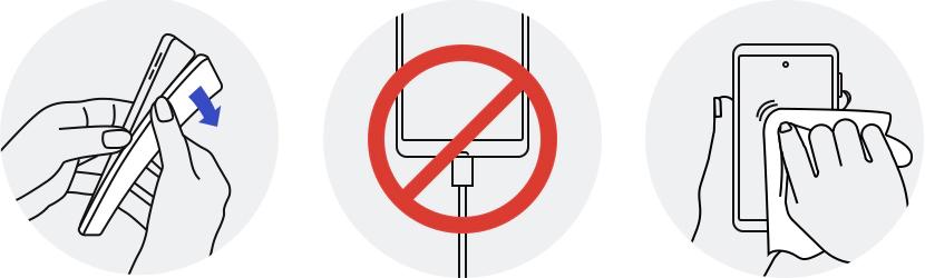 Guia para limpar o celular segundo a Samsung