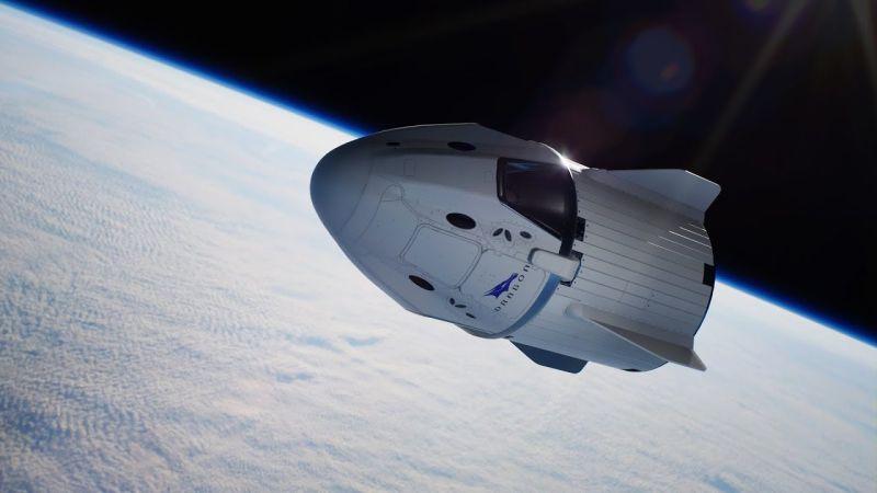 Cápsula usada no voo espacial tripulado