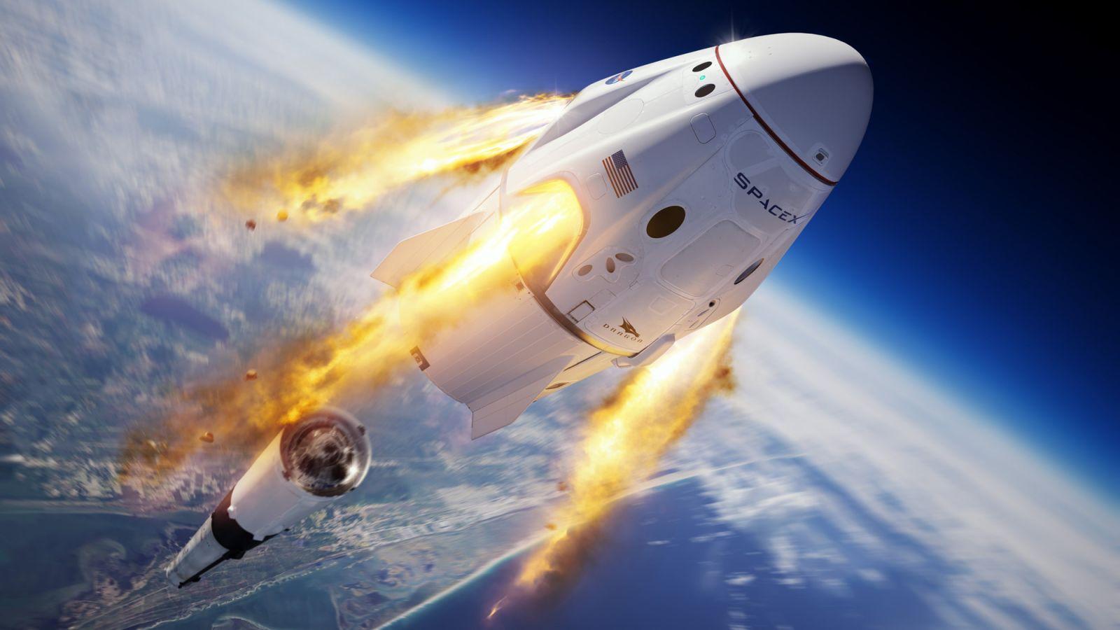 Lançamento spacex destaque
