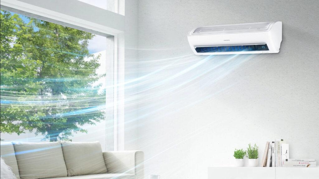 Imagem da plataforma de ar-condicionado samsung