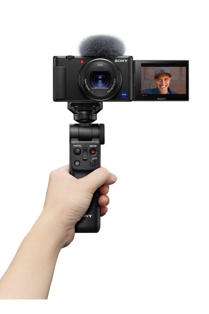 Sony zv-1 com o kit completo