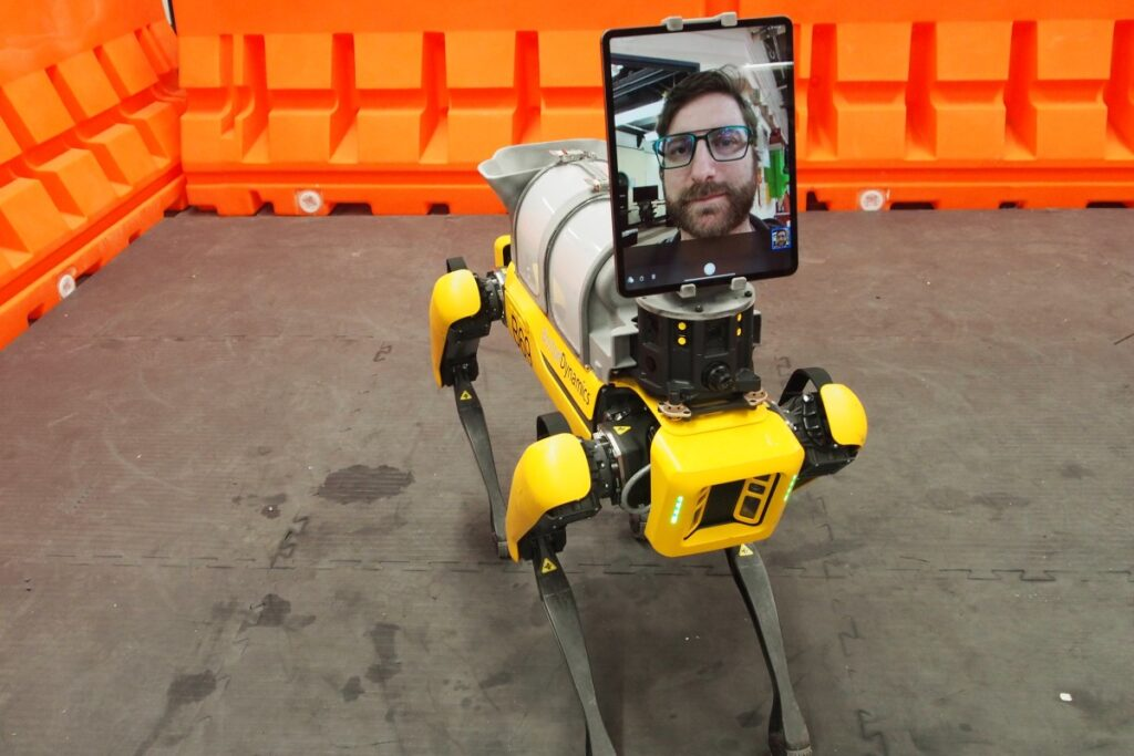 Robô da Boston Dynamics