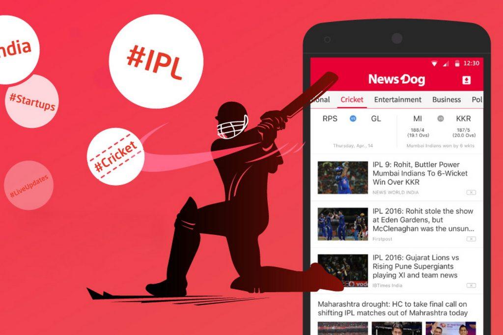 Agregador de notícias NewsDog