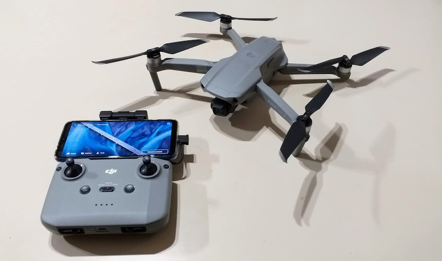 Drone Mavic Air 2 e seu controle