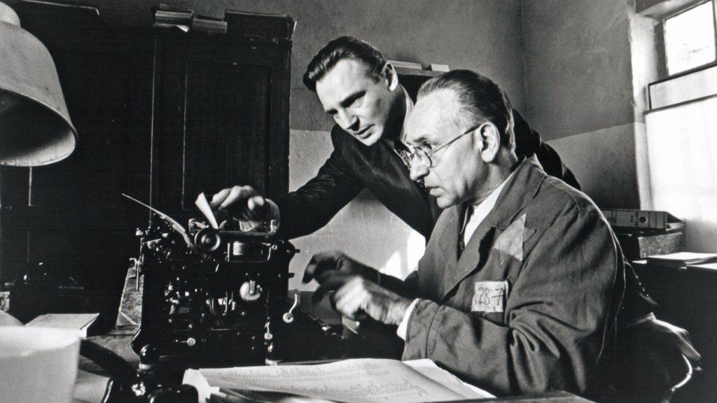 Imagem do filme A Lista de Schindler