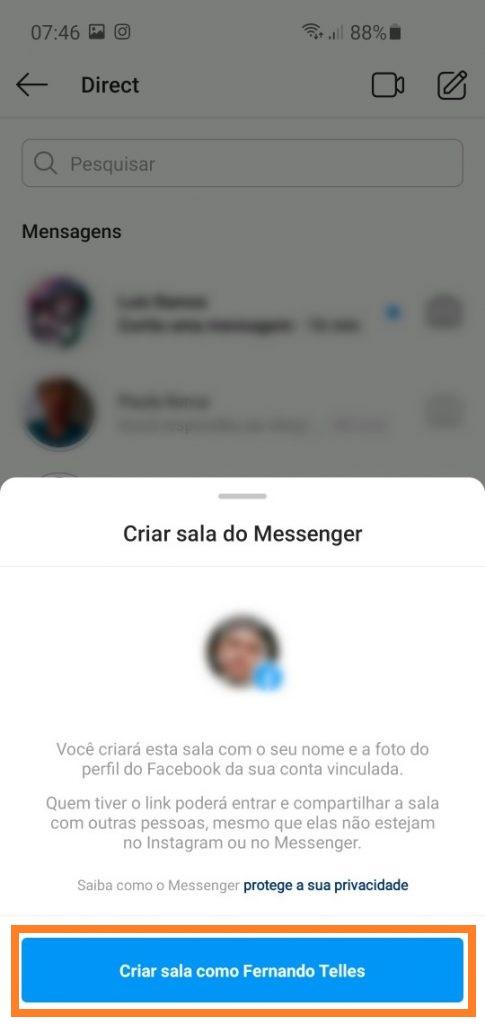 Crie 'Salas do Messenger' para fazer videochamadas em grupo no Facebook, Instagram e Whatsapp