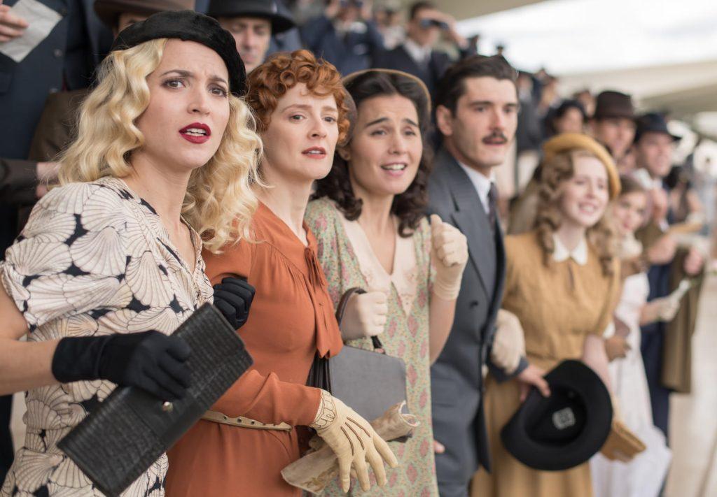 Imagem da série As Telefonistas, um dos lançamentos da Netflix