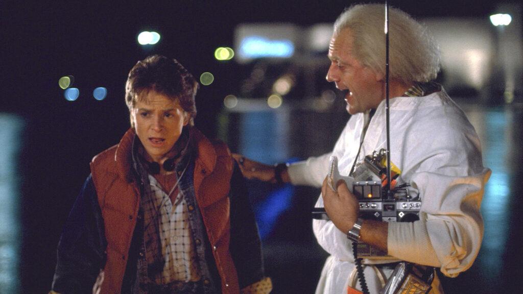 Imagem do filme De Volta Para o Futuro