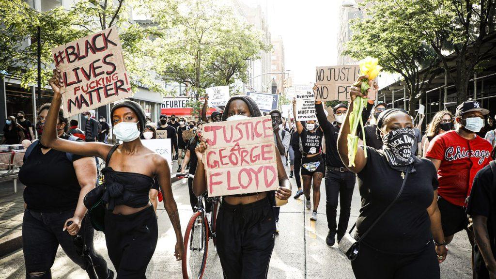 Protesto racismo george floyd