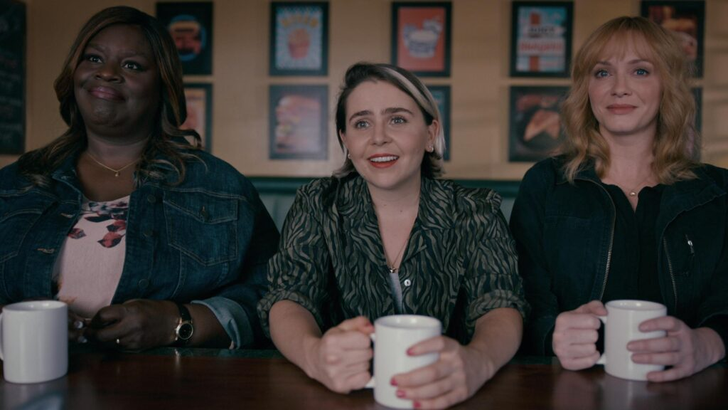Imagem da série Good Girls, um dos lançamentos da Netflix