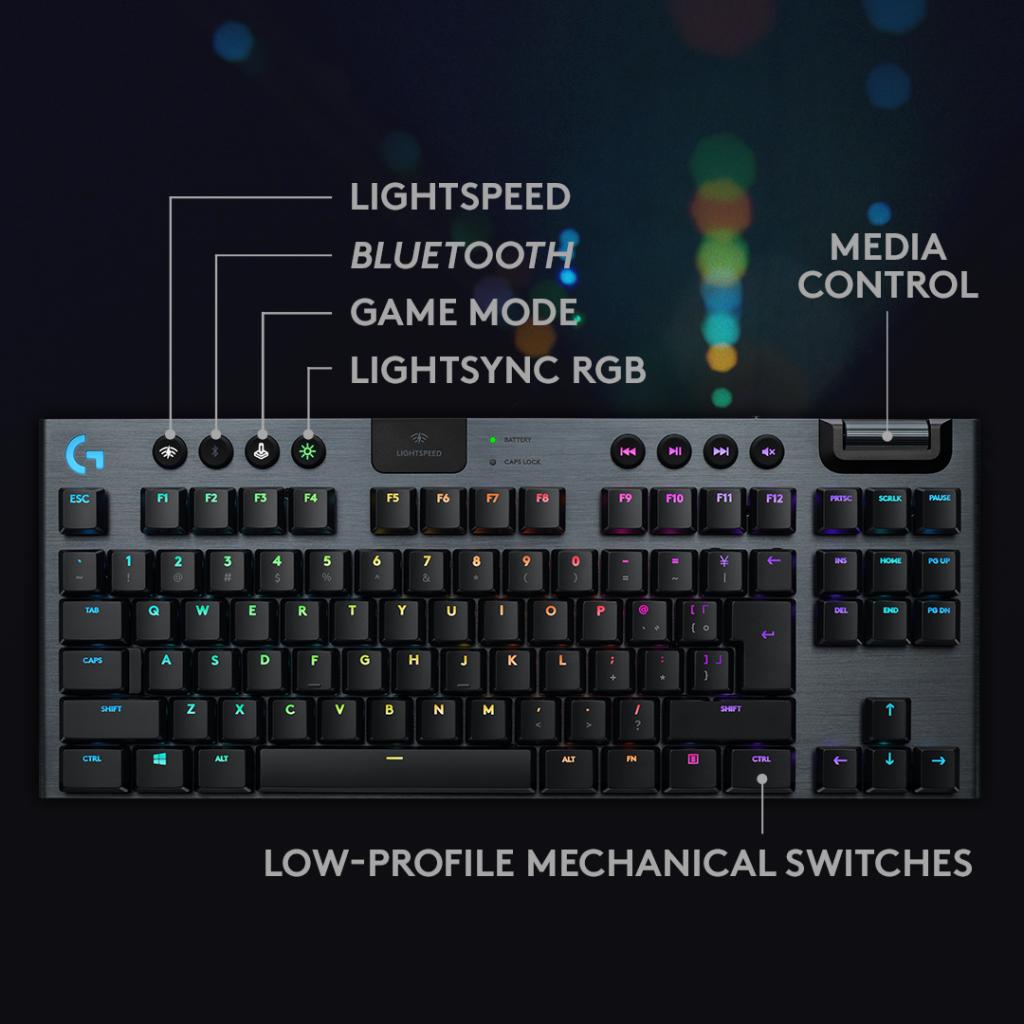Design do novo Logitech G915 TKL