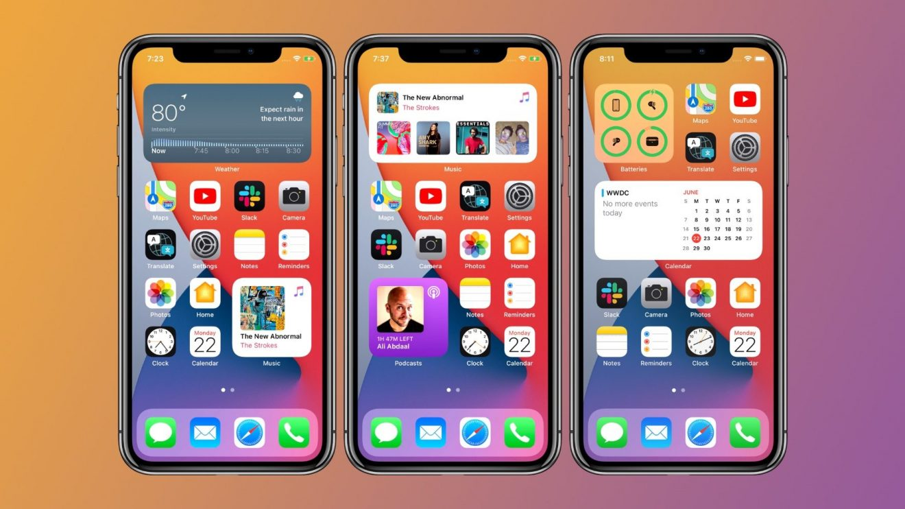 How to use iPhone home screen widgets in iOS 14