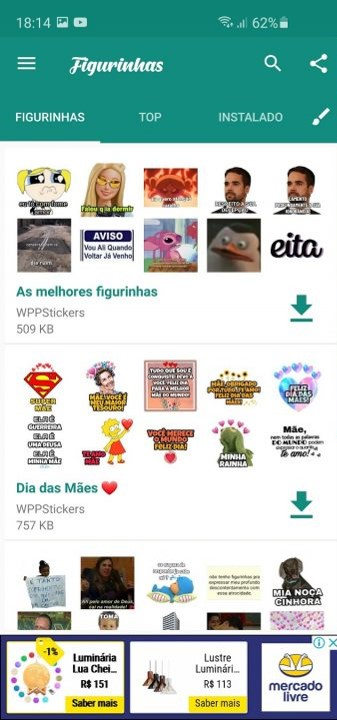 Figurinhas para Whatsapp - Todas as Figurinhas 1