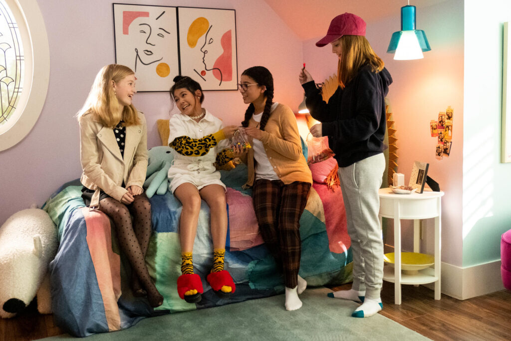 Imagem da série o clube das babás