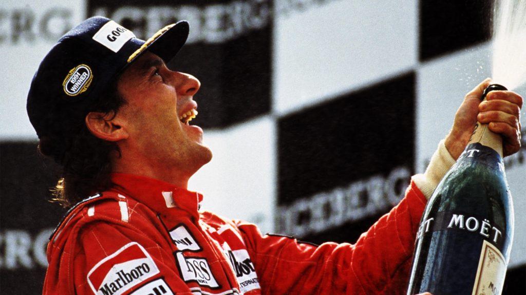 Imagem do documentário Senna