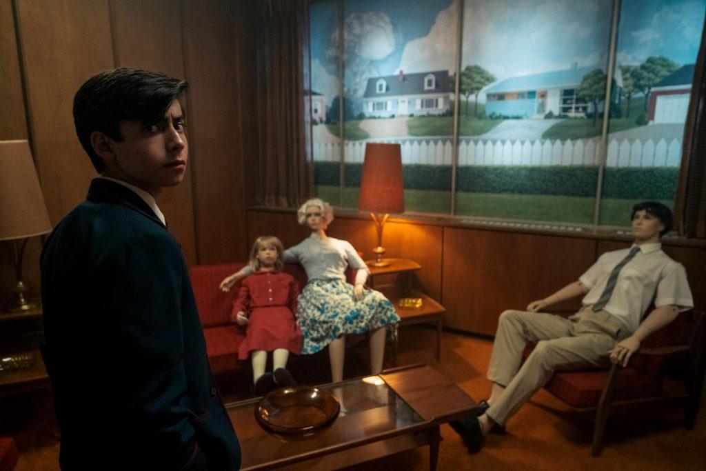 Imagem da série The Umbrella Academy, um dos lançamentos da Netflix