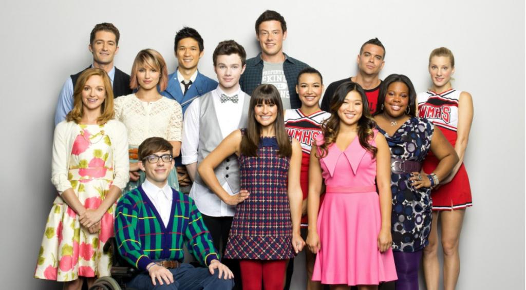 Imagem da série Glee