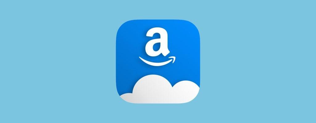 Ícone do cloud drive da amazon