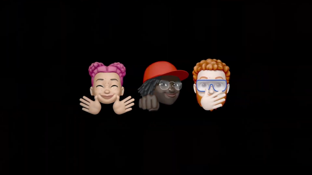 Memojis do ios 14