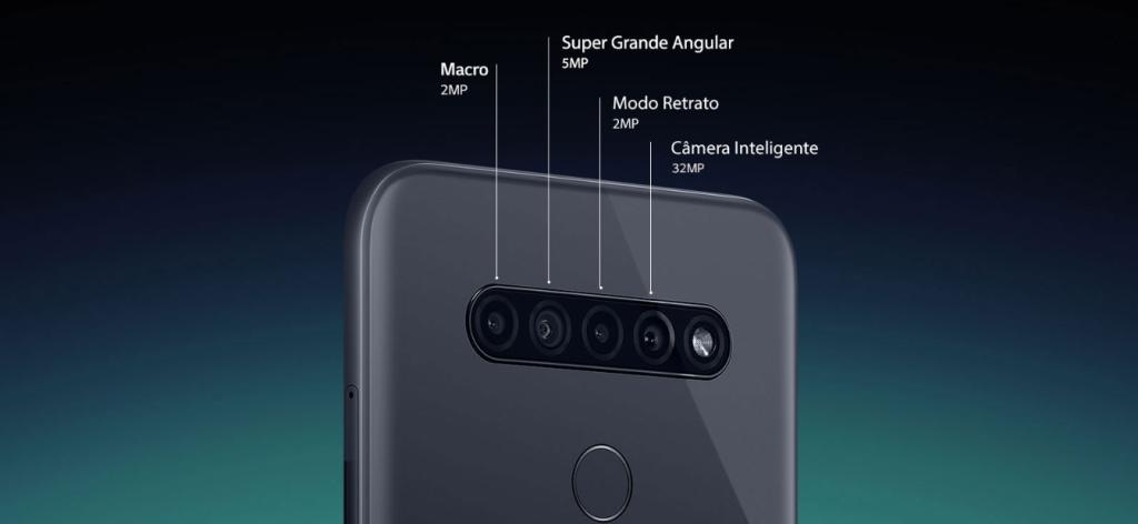 Sistema de câmeras do LG K51S
