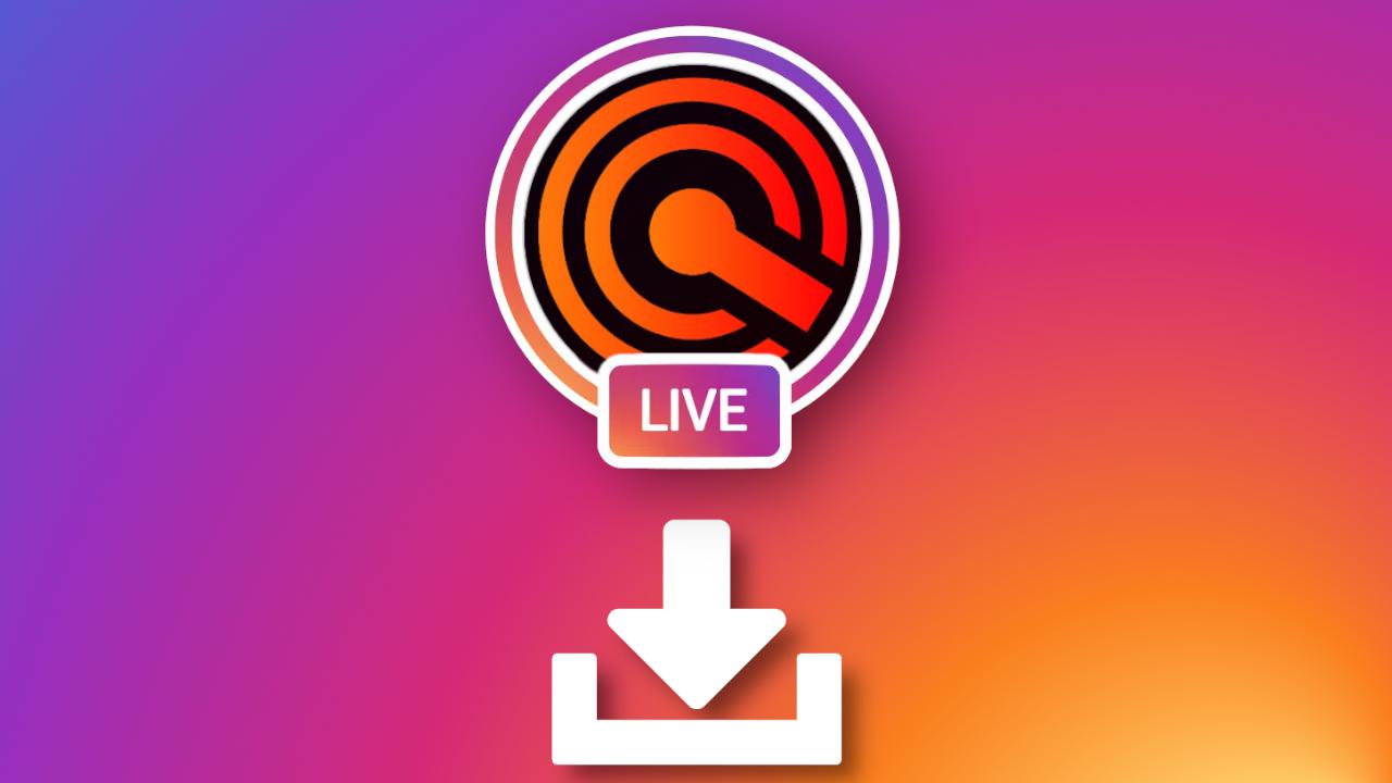 Como salvar uma live do Instagram