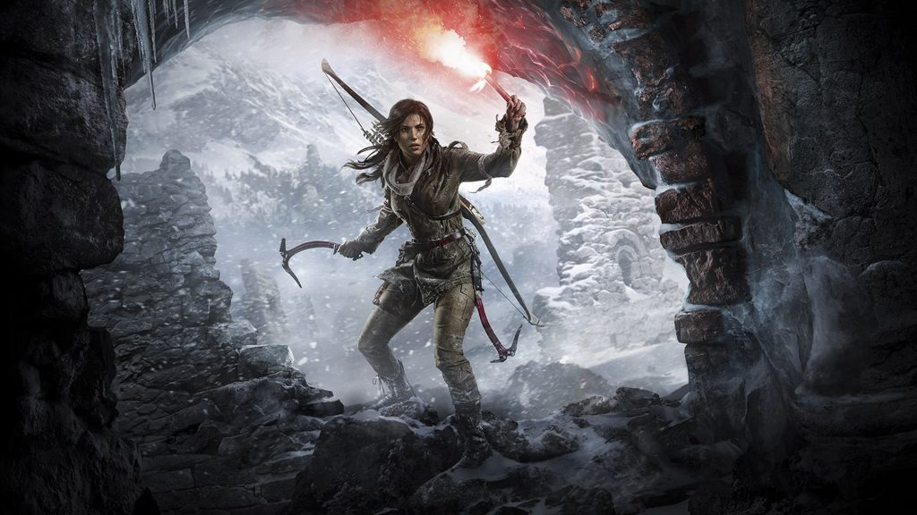 Lara Croft em Rise of the Tomb Raider
