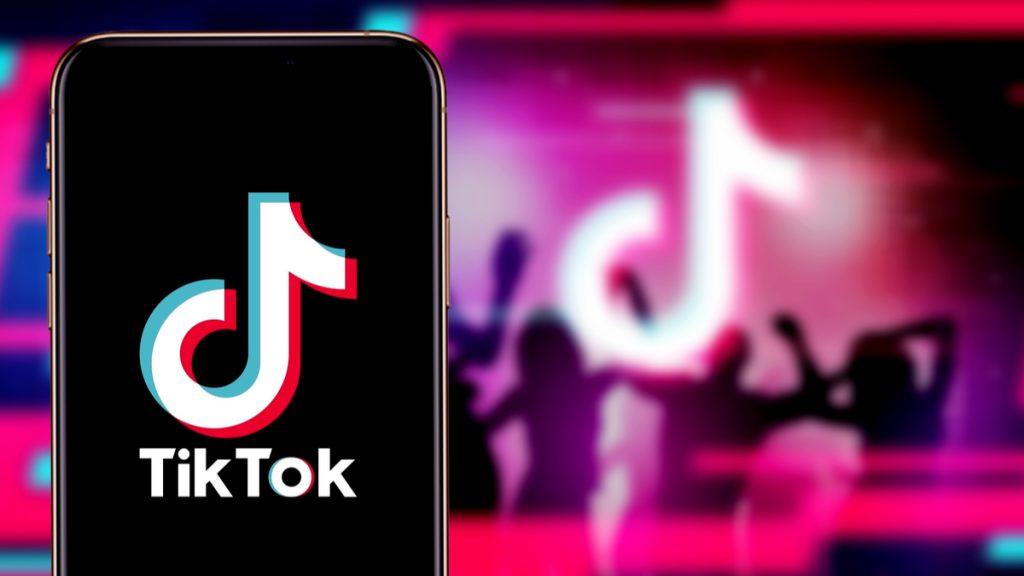 TikTok, um dos apps chineses