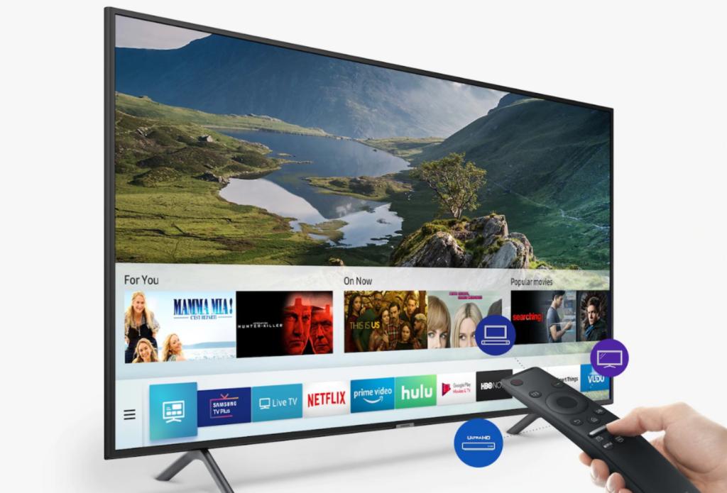 TV Samsung RU7100