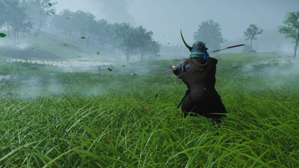 Jin se defende de um arqueiro mongol.