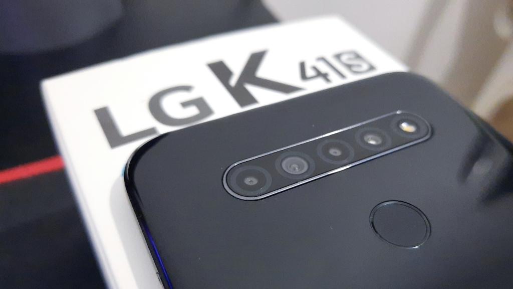 Câmeras do LG K41s