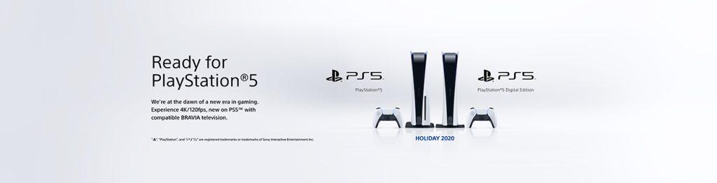 O playstation 5 ganhará uma linha de tvs preparadas para o console.
