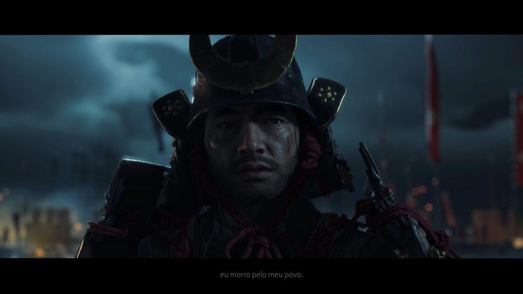 Jin fala que morreria por seu povo.