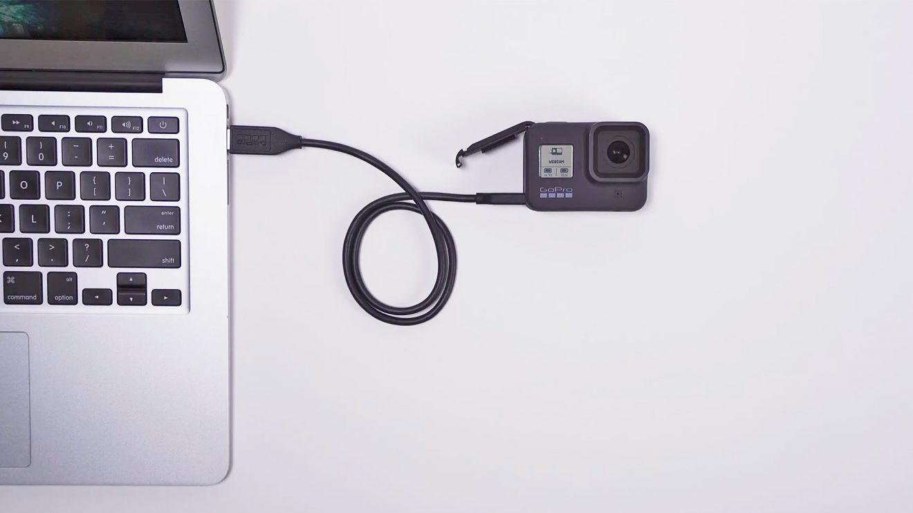 GoPro Hero8 webcam