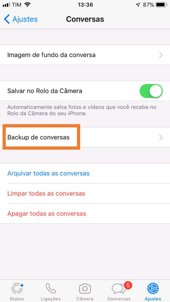 Whatsapp: como recuperar mensagens apagadas no android e no ios. Aprenda a ativar o backup automático do whatsapp e veja como recuperar mensagens apagadas no aplicativo para ios e android