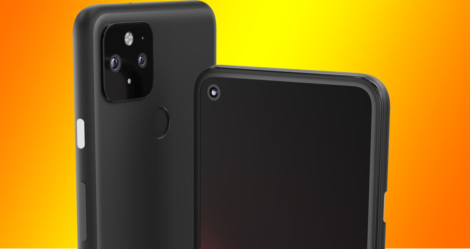 Pixel 5 capa