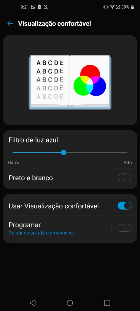 série k tutorial filtro de luz azul
